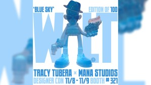 Tracy Tubera's Walt Resin Sculpture