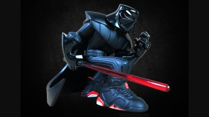 Tracy Tubera's Jordan Sith Infrareds, Original/Classic Edition