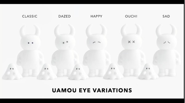 Uamou's eye variations
