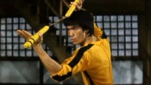 Bruce Lee's The Game of Death film still, 1972