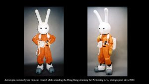 mr clement's Astrolapin costume, circa 2002