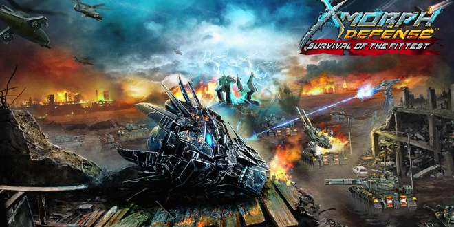 X-Morph: Defense - Survival Of The Fittes