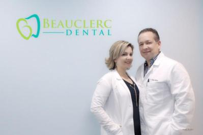 Dr. Yunior Molina and Dr. Annette Lorenzo, Beauclerc Dental