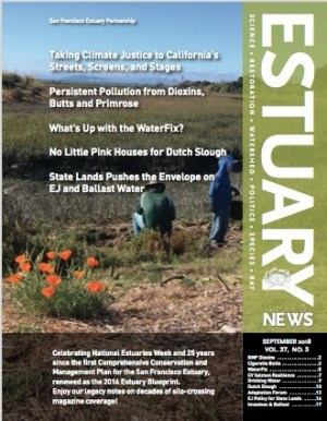 Estuary News September 2018 Cover