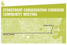 Storefront Conservation Plan