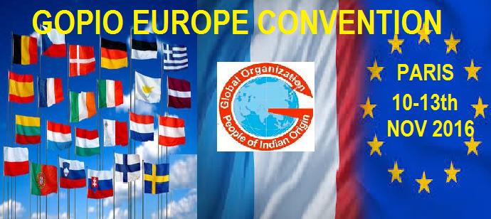 GOPIO EUROPEAN CONVENTION