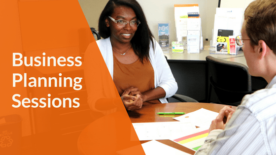 Business Planning Sessions: Woman getting advice from a business coach