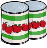 Canned food Crop Walk