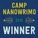Camp nanowrimo badge!