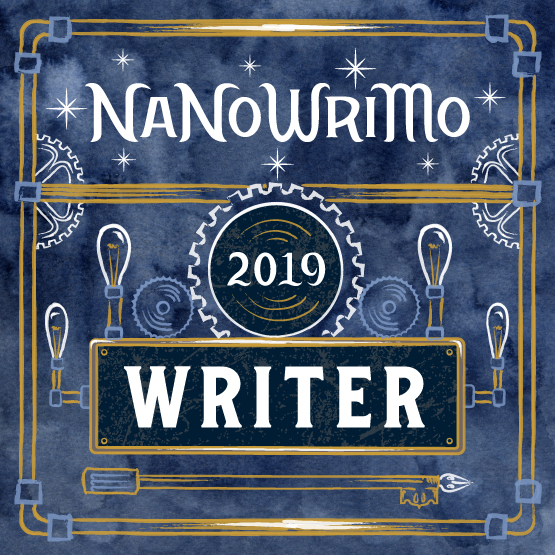 Image result for nanowrimo 2019 banne