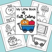 My Fall Colors Mini Book
