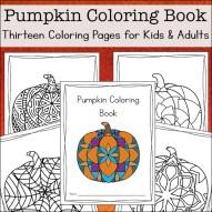 Pumpkin Coloring Book