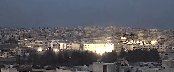 Bombenangriff auf Aleppo