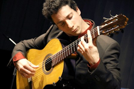 GuitarSarasota presents Grisha Goryachef for a Flaminco concert in Sarasota, Florida