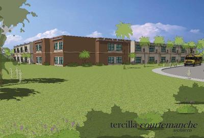 RCC Crestwood rendering modular classrooms