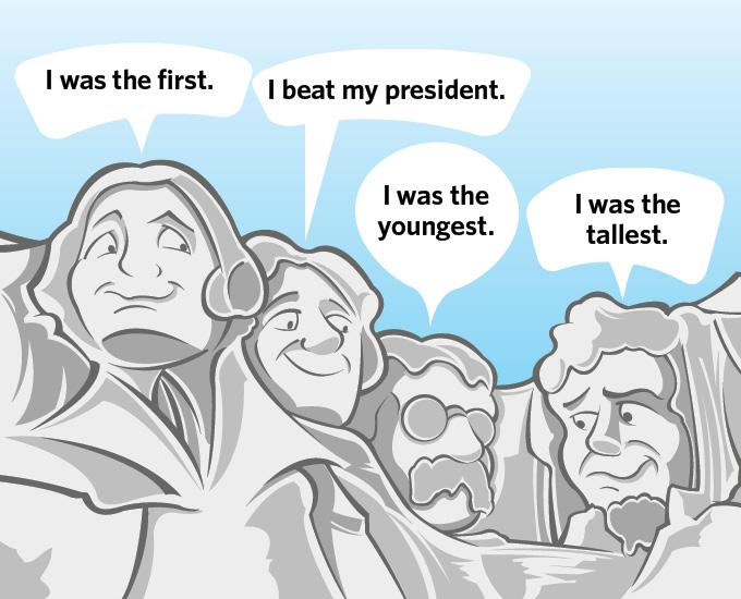 Humorous Presidents Cartoon