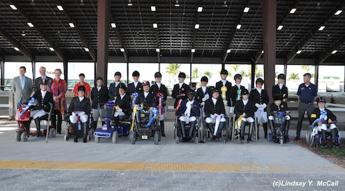 Dressage Focus: Riders at the 2014 CPEDI at the Adequan® Global Dressage Festival. Photo by Lindsay Y. McCall.