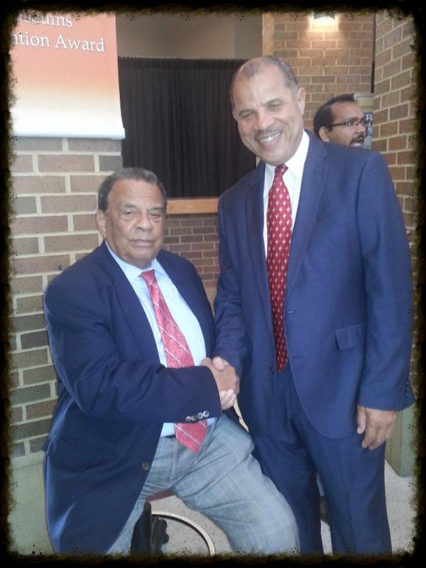 Vernon Oakes & Andrew Young