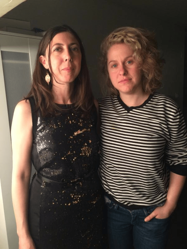 Alexandra and Liz Peters