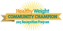 Healthy Weight Community Champion Logo