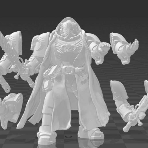 Download free 3D printer designs Mars Moon Magic Man ・ Cults
