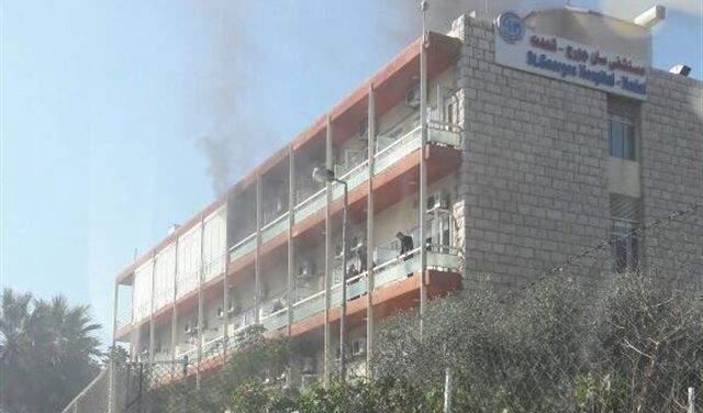مستشفى سان جورج: اصابة ثلاثة موظفين آخرين بفيروس كورونا بسبب دخول مريض للمستشفى