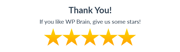 WP Brain - A Brain for Your WordPress WebSite 26