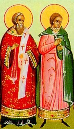 sveta Agatopod in Teodul, diakon in lektor, mučenca