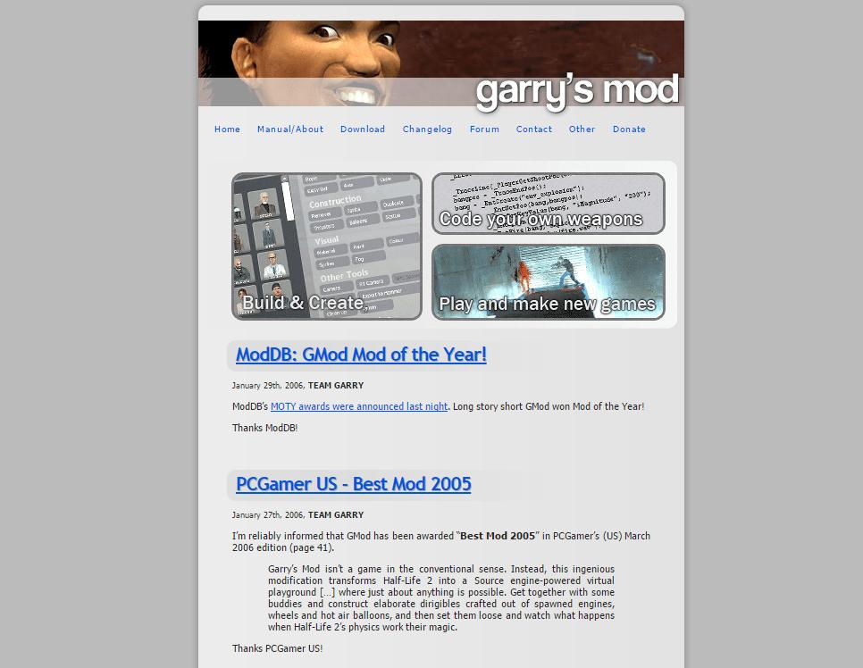 Garry's Mod is 10 years old – Garry's Blog