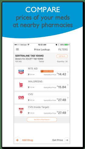 Price Lookup Screen