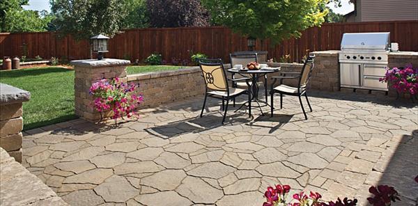 Concrete Patio Design Ideas and Pictures - AyanaHouse on Simple Concrete Patio Designs id=72519