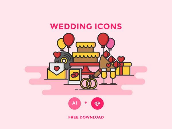 free wedding icons # 66