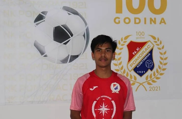 David Maulana Official Debut in Croatian League, Played 2 Times in 3 Days