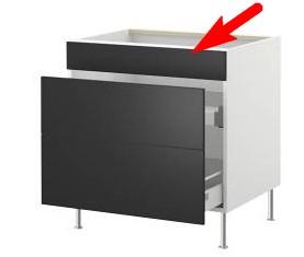 ikea faktum montage faux tiroir