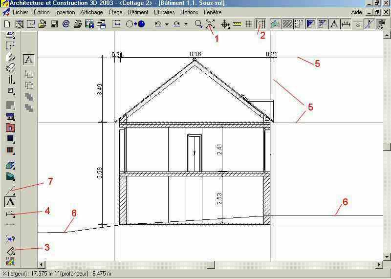Dessin maison 2d gratuit segu maison for Logiciel plan 2d gratuit