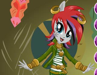Play Free Equestria Girls Zecora Dress Up