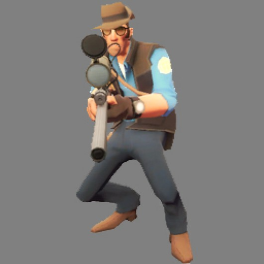 TF2BlueSniperCrouched Team Fortress 2 Sprays