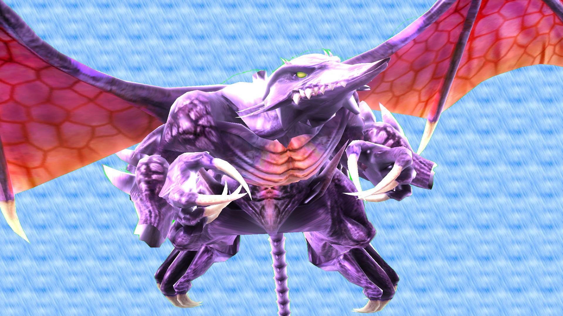 Ridley Bowser Skin Super Smash Bros Wii U Works In