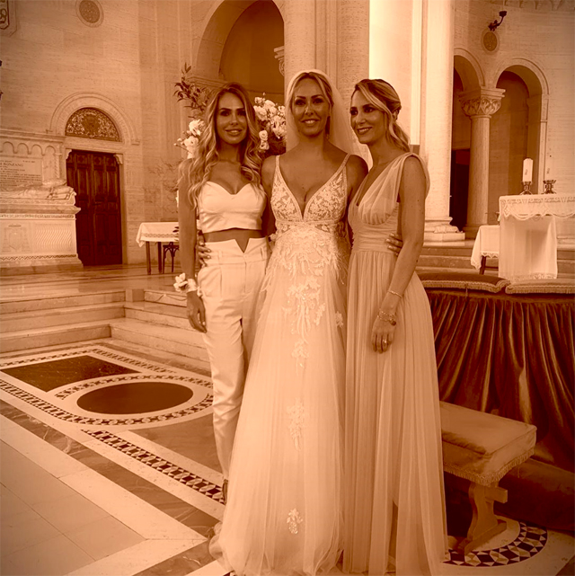Le tre sorelle Blasi: Ilary, Silvia e Melory