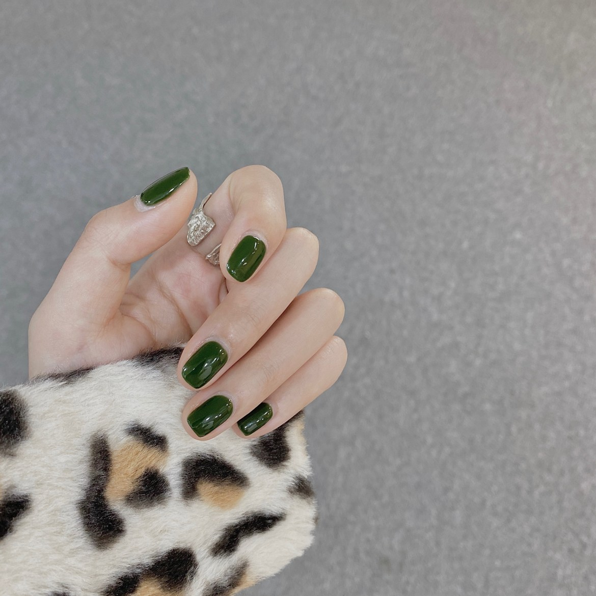 Cool Emerald Nail Art 2