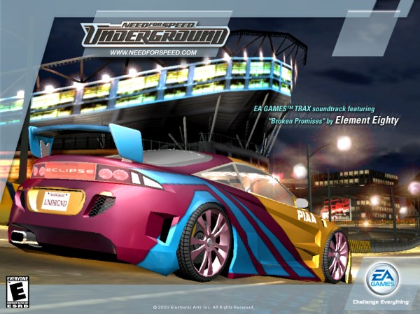 Need for Speed Underground Wallpapers Download Need for