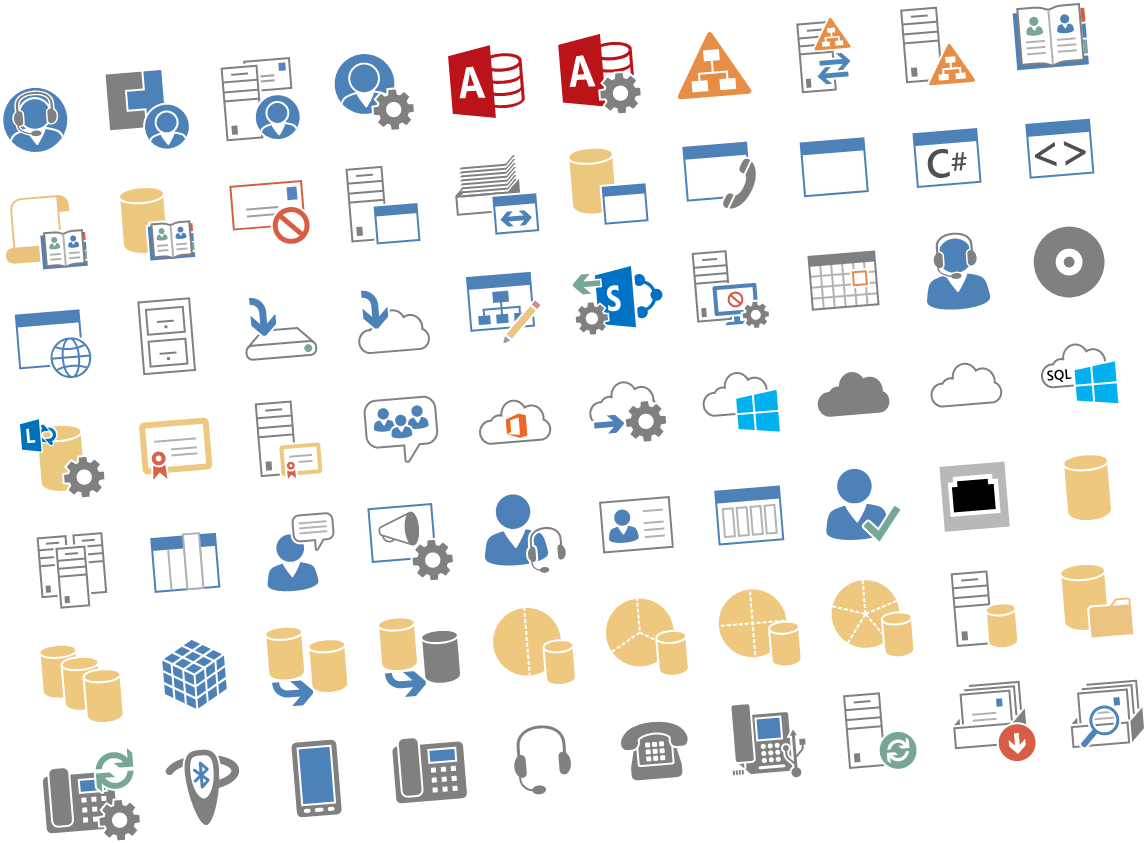 Microsoft Released New Visio Stencils for Office Server