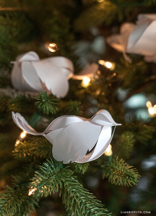 DIY Paper Birds By Lia Griffith Project Home Decor