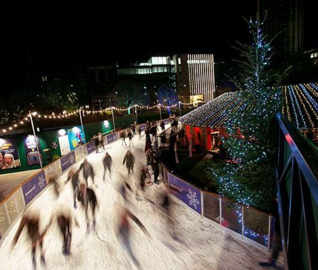 A Guide To Christmas Ice Skating In Scotland