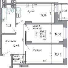 Увеличить - Объект №4341995-lotс Комарова Представляем вниманию новый ЖК в самом центре Северного жилого массива г. Ростова-на-Дону. Данный комплекс комфорт-класса возводится в золотом квадрате микрорайона, что обуславливает богатую инфраструктуру - рядом парк, детские сады, школы, церковь, торговые центры, О-кей, банки, поликлиника и даже аквапарк. Хотите жить в новом доме? Звоните! Мы работаем от застройщика - никаких комиссий! Ждем в нашем офисе по адресу: г. Ростов-на-Дону, ул. Добровольского, 18/22. Для просмотра лучше записаться по номеру телефона в объявлении. <br>Сдача первого дома 2 кв. 2021 г. <br>Успей сделать выгодную покупку. <br>Ипотека, рассрочка, материнский капитал, все виды сертификатов.<br><br>Бесплатная помощь в оформлении ипотеки.<br><br>С проектной декларацией на объект  можно ознакомиться в нашем офисе по адресу: г. Ростов-на-Дону, ул. Добровольского, 18/22, с понедельника по пятницу с 10-00 до 18-00: ,