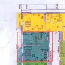 Увеличить - Объект №10577678-lotз ул. Жмайлова СОБСТВЕННИК продаёт евро двушку.  Номер квартиры 940. 6 подъезд 7 этаж. Окна во двор. Прихожая 5.7кв.м. Санузел совмещенный 4.1кв.м. Кухня-столовая с выделенной зоной кухни 17.8 кв.м. Из кухни-столовой выход на остеклённый балкон площадью 3.5кв.м. Спальня 11.4 кв.м. Квартира приобретена мной по договору долевого участия у застройщика ЖК Сказка. Сделка зарегистрирована в РосРеестре. Срок сдачи до 3 кв 2021г. Рядом с этой квартирой продаю ещё 2-х комнатную квартиру номер 941 площадью 67.4 кв.м. Также продаю парковочное место и кладовую. Фото кладовой цена 300тр и парковочного места 700тр  прилагаю. Парковка и кладовка под подъездом. Лифт с этажа в подвал.: ,