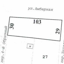 Увеличить - Объект №2625356-lotн Ловкий переулок Продаю участок на Ростовском море, ровный, угловой, фасад 40 метров. Расположен между пер.Образным и пер.Загадочным. по ул.Амбарная. Адрес присвоен. коммуникации по меже. Торг по договоренности.: ,