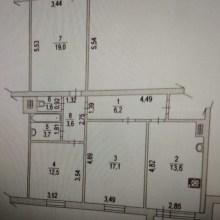 Увеличить - Объект №5423542-lotс Орбитальная Продается 3 комнатная квартира в новом панельном доме на СЖМ (7 микрорайон). Низкий этаж, квартира не угловая, никаких перепланировок. Это самая лучшая планировка из трехкомнатных квартир в панельных домах. Квартира с ремонтом, все фото реальные. Рядом с домом расположены 2 школы,два детских сада, магазины. Собственник рассматривает обмен на 2 комнатную квартиру с вашей доплатой.<br>Компания предлагает своим клиентам помощь в получении ипотечного кредита в ведущих банках города.: ,