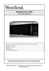 west bend em925ajwp2 microwave oven
