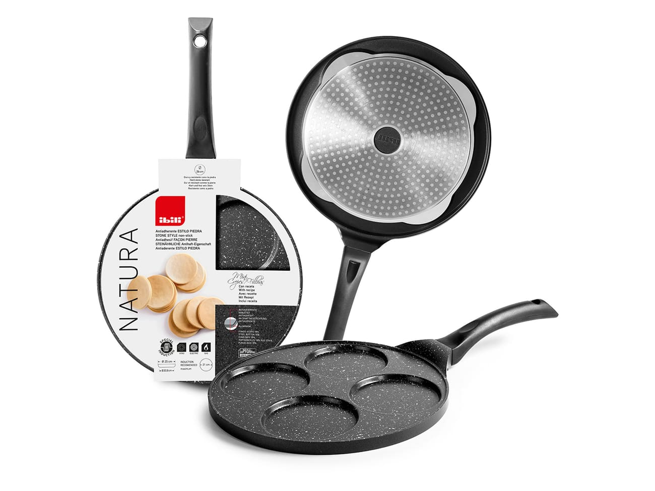 poele a blinis et pancake speciale induction ibili